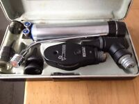 Used ophthalmoscope