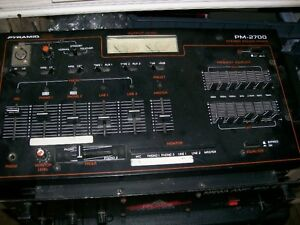 Pyramid PR-2700 Sound Mixer with Equalizer for sale  Rack Mount