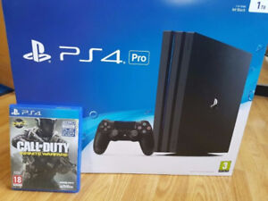 Ps4 pro infinite warfare 4k