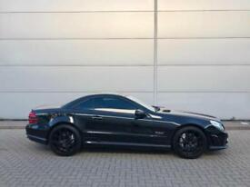 "2010 10 Mercedes-Benz SL63 AMG 6.3 Black Convertible + Pan Roof + 20"" Alloys"
