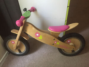 Girls' Princess Runners Wooden Balance Bike