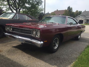 1969 Plymouth Road Runner, 383, 4 Speed