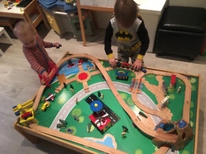 Kid kraft train table $50