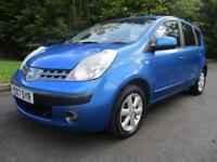 Nissan Note SE PETROL AUTOMATIC 2007/07