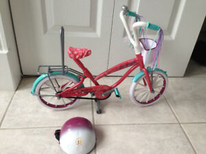 Journey girl bike and helmet