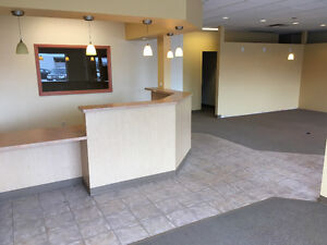 Downtown retail or office space for lease