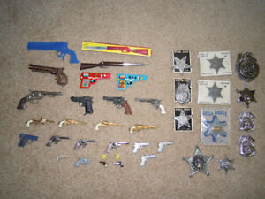 Miniature Toy Metal Guns & Collectables