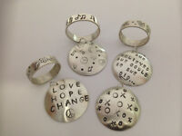 Jewelry Making Workshop--Stamped Ring and Pendant