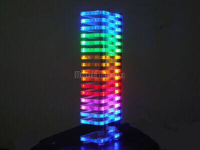 Crystal Cube 16led Music Spectrum Level Display Vu Meter For Tube Amplifier Diy