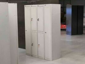 Job lot of 22 Used Metal Lockers
