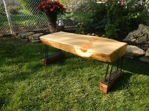 Log Benches - Pine - $299.00 each Cambridge Kitchener Area image 1