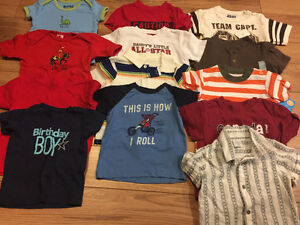 Boys 6-12 month summer clothing lot