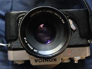 Konica SLR w/ rare lens Kawartha Lakes Peterborough Area image 6