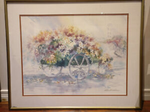 REDUCED:Lithograph by Richard E.Williams, signed and numbered