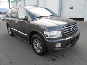 2007 Infiniti QX56 Auto 4x4 7 Passenger Fully Loaded SUV
