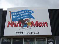 NUT MAN CHARITY SALES
