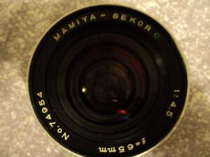 Mamiya Lens
