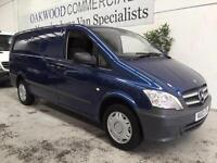 "2012 12 Mercedes-Benz Vito 113CDI LONG VAN ""NO VAT """