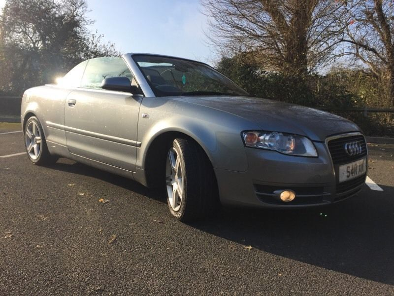 Audi A4 cabriolet 2.0 tdi 2006 private plate new shape 111000 miles f.s.h new mot 3795