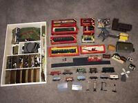 Collection of 1970s vintage Hornby Train set oo gauge
