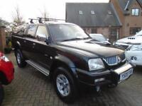 2005 Mitsubishi L200 2.5 TD Ltd Warrior (60,000 Miles) No VAT