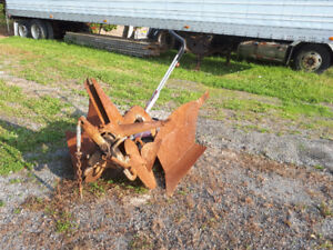 unfinished plow