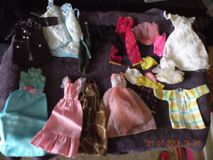 Vintage Barbie clothes (store made)