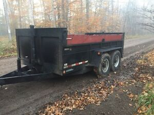 Dump trailer  Peterborough Peterborough Area image 1