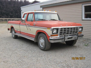 1979 Ford F250 Lariat Super Cab