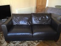 Large 2 Seat Leather Sofa
