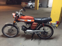 Yamaha FS-1 100cc (registered as scooter) - Moped / Mobylette