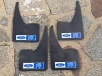 FORD RS MUDFLAPS , Fiesta,Focus,Mondeo, Universal fit
