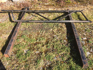 12 feet wide steel gate