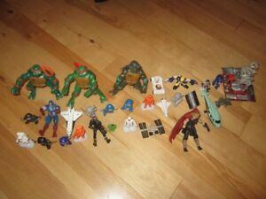 Figurines variées