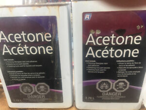 Acetone 2 Gallons