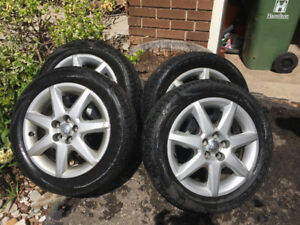 All Season Tires with Rims 195/55R16