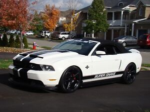 2011 Ford Mustang Shelby Super Snake Convertible 630hp