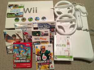 Nintendo Wii FULL BUNDLE (All Inclusive)