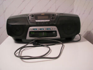 Radio-portatif Am/Fm de marque JVC