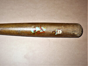1940s ST. LOUIS BROWNS and St. Louis Cardinals Mini Baseball Bat