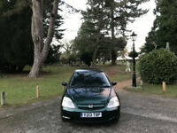 2001 Honda Civic 1.6i VTEC S 5 Door Hatchback