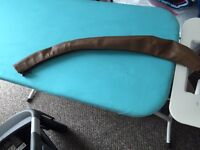 New Leather pram handle bar cover