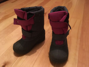 Bottes d'hiver Baby Chou (fille, pointure 9)