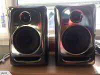 KRK RP5 G3 Black Gold (Vintage crome) limited edition studio monitors