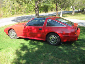 1986 Nissan 300zx 2+2, Red in Color
