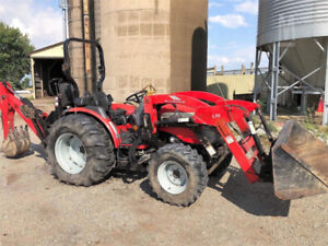 Compact or mid-size tractor