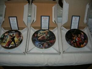 Star Wars Trilogy Plate Collection by The Hamilton Collection