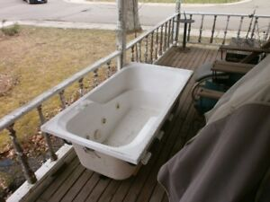 used hot tub with jets