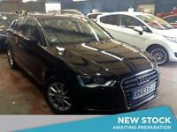 2013 AUDI A3 1.6 TDI SE Leather Bluetooth Zero Tax 1 Owner Dab Radio