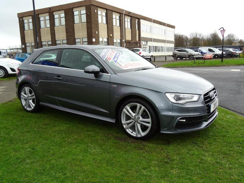 2013 audi a3 2 0 tdi s line 3dr in newcastle tyne and wear gumtree. Black Bedroom Furniture Sets. Home Design Ideas